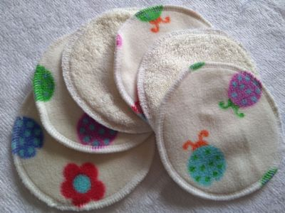 Bamboo & Ladybird Fleece Washable Cleansing Pads